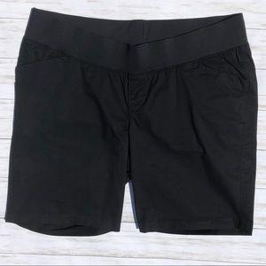 Old Navy Black Maternity Shorts Sz 18 NWOT